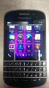 Telus Blackberry Q10 Black, Excellent Condition