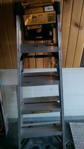 Brand New Aluminum Dewalt  300 lb. Rated Step Ladder