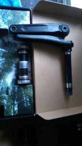 RaceFace Aeffect 100 mm fat bike crank set for 190/197 rear hub