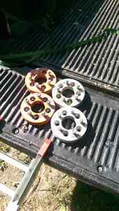 wheel spacers, ford ranger/jeep/ mazda b