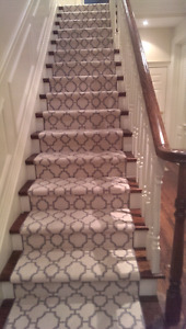 Carpet Installations and beyond. 647-994-4446.