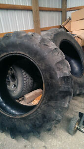 Used Pair of Goodyear Tractor tires