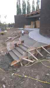 Concrete cutting and  place & all flat concrete Strathcona County Edmonton Area image 2