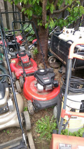 Several Lawn Mowers for sale