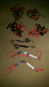 Rock and Scaffolding Climbing repelling  gear