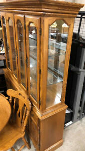 FAPO - Real Wood Display Cabinet