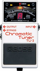 Boss Chromatic Tuner Pedal x2