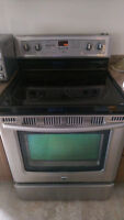 Maytag electric smooth top convection stove range