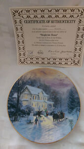 Sleigh Ride Home collectors plate