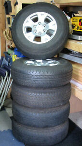 Stock Dunlop AT20 Tires & Rims