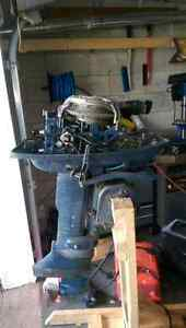 Outboard Evinrude 18hp fastwind