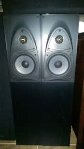 Mirage speakers and Yamaha 5.1 receiver