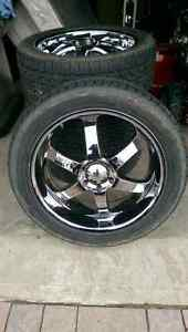 "22"" Boss Wheels and Tires"