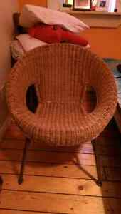 Wicker chair. St. John's Newfoundland image 1