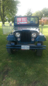 1981 jeep cj Windsor Region Ontario image 2