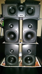 ENERGY SPEAKERS 5.1 HOME THEATER SET THIS IS A GREAT DEAL