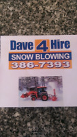 Snow blowing in west Riverview