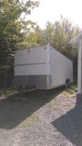 Enclosed car hauler / Utility trailer