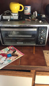 Black and decker counter top convection oven