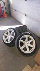 Volk TE37  Replica wheels  18x9