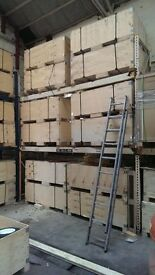 "Heavy Duty Wide Span Warehouse Racking ""Cheap """