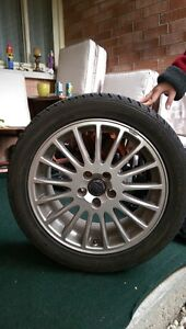 ALL SEASON VOLVO TIRES WITH RIMS
