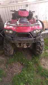 Any one Wana trade a trailer for a beast of a quad