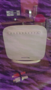 Dsl wireless modem and router
