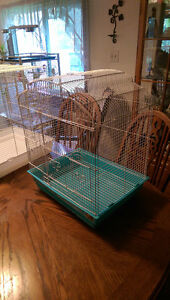 2 like new bird cages REDUCED PRICE