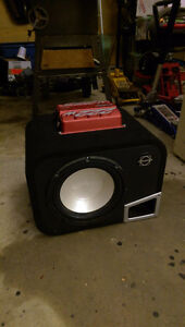 "Bassworx Infinity 10"" sub and amp"