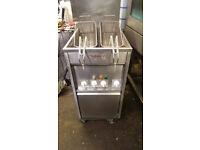 SPECIAL OFFER Valentine Single Tank 2 Basket Chips Fryer Commercial