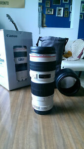 Canon EF 70-200 F4 L Lens (Trade+Cash for Small FS MTB)