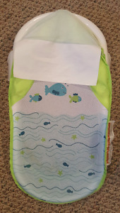 Infant Bath Sling, Bath Tub and Nursing Pillow