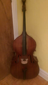 Fully carved double bass / toute bois contrebasse upright bass