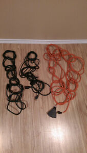 Two 25' and 50' extension cords