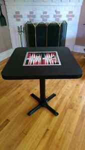 Table de BACKGAMMON Table with lights! Vegas Style