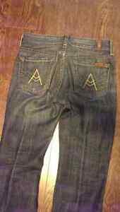 "7 Seven For All Mankind ""A"" Pocket Jeans - Size 26 Windsor Region Ontario image 1"