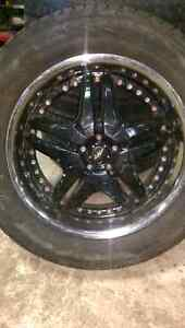 4 Rims and tires  Edmonton Edmonton Area image 1