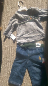 12 Month - Jean + Shirt ensemble for Boys - New with tags on!