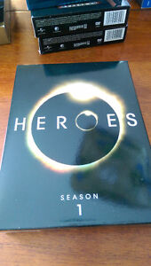 Various DVDs of TV Show seasons