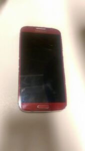 *** 2 phones for cheap : A nice red Samsung S4 plus iPod touch 2