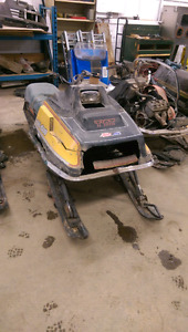 Vintage project sleds and motors