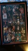 MJ Poster and Frame