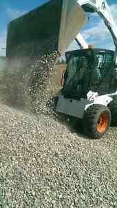 Topsoil your yard today! FREE ESTIMATES! Bobcat Services