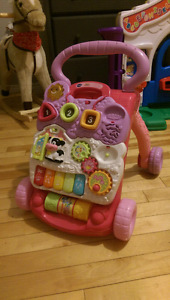 Vtech Sit-to-Stand Learning Walker (Pink)