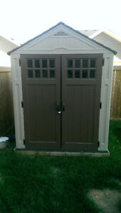 Outdoor Garden Shed 6'x5' with lumber foundation
