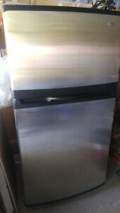 Super Clean Maytag Stainless Fridge- Loads of Storage, like new