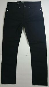 NWT LEVI'S CALIFORNIA JAPAN SLIM 1960s STYLE BLACK JEANS TAG SZ 34X32 (36X31.5)