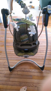Grace Baby Swing - powered with music & timer