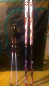 Mens X-Country Ski Package